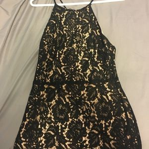 NORDSTROM MINI LACE BODYCON